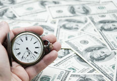 Zeit ist Geld Lizenzfreie Stockbilder