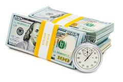 Zeit ist Geld Lizenzfreie Stockfotografie