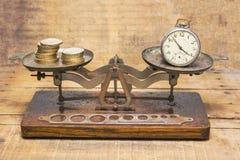Zeit ist Geld lizenzfreies stockfoto