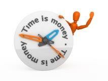 Zeit ist Geld. stockfotografie