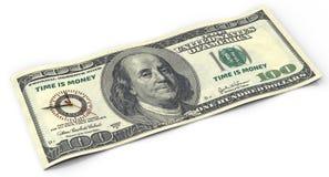 Zeit ist Geld Feder, Brillen und Diagramme Lizenzfreie Stockbilder