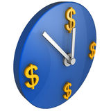 Zeit ist Geld Konzept Stockbild