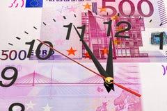 Zeit ist Geld Konzept Stockfoto