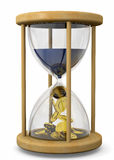 Zeit ist Geld Konzept - 3D Stockfoto