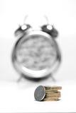 Zeit ist Geld - Mono2 lizenzfreies stockbild