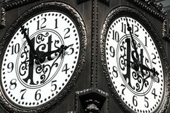 Zeit ist unaufhaltsam Stockbild