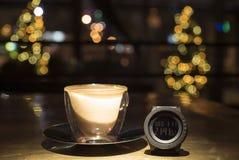 Zeit, Kaffee zu trinken stockbild
