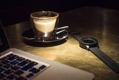 Zeit, Kaffee zu trinken stockfoto