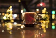 Zeit, Kaffee zu trinken lizenzfreie stockfotos