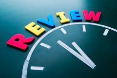 Zeit, Konzept zu wiederholen Lizenzfreies Stockbild