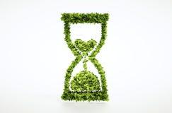 Zeit lässt heraus Konzept laufen lizenzfreie abbildung