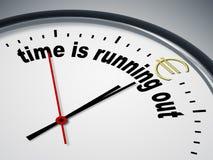 Zeit läuft heraus für Euro Lizenzfreies Stockbild
