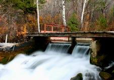 Zeit lief Wasserfall ab Lizenzfreies Stockbild