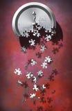 Zeit-Puzzlespiel 2 lizenzfreie stockfotografie