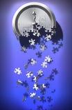 Zeit-Puzzlespiel Lizenzfreies Stockfoto