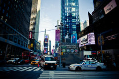 Zeit-Quadrat, New York Lizenzfreies Stockbild
