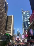Zeit quadratisches New York City Lizenzfreie Stockfotografie