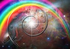 Zeit-Raum lizenzfreie abbildung