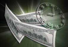 Zeit u. Geldkonzept Lizenzfreie Stockfotografie