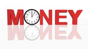 Zeit und Geld Stockfoto