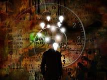 Zeit und Ideen lizenzfreie abbildung