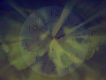 Zeit und Platz Stockbild