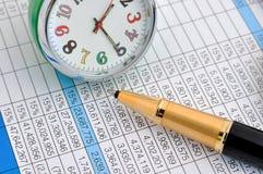Zeit und Wert stockfotografie