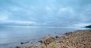 Zeit-Versehen von schönen Wolken stock footage
