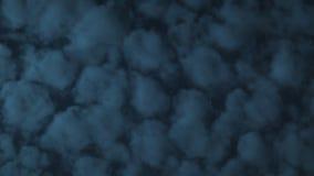 Zeit-Versehen-Wolken im Himmel stock footage