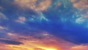 Zeit-Versehen Wolken und Himmel UltraHD 4K stock video footage