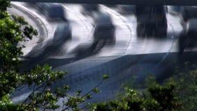 Zeit-Versehen zwischenstaatlicher 5 Autobahn-Verkehr HD stock video footage