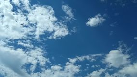 Zeit-Versehenwolken stock video