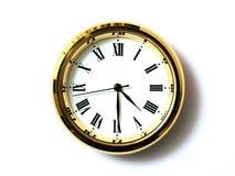 Zeit, vier dreißig stockfotografie