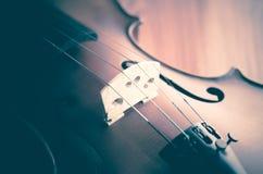 Zeit, Violine zu üben Stockfotografie
