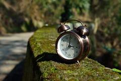 Zeit weg ruhig geglitten Stockfotografie