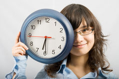 Zeit, weg von Arbeit zu erhalten! Lizenzfreies Stockfoto