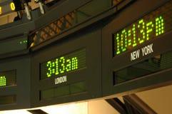 Zeit-Zonen Lizenzfreie Stockfotografie
