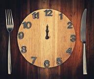 Zeit zu essen Lizenzfreies Stockfoto