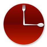 Zeit zu essen lizenzfreie abbildung