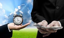 Zeit zum Investitionskonzept Stockfotos