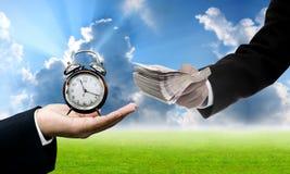 Zeit zum Investitionskonzept Stockfoto
