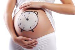 Zeit zur Geburt Lizenzfreie Stockbilder