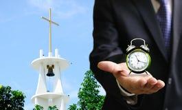 Zeit, zur Kirche zu gehen Lizenzfreies Stockbild