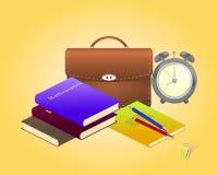 Zeit zur Schule Lizenzfreies Stockfoto