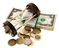 Zeiten verloren - das verlorene Geld Lizenzfreies Stockfoto