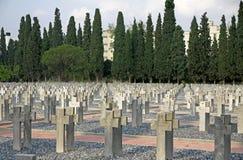 Zeitenlik, el cementerio militar aliado y parque conmemorativo de WWI adentro imagenes de archivo