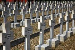 Zeitenlik, le cimetière militaire allié et parc commémoratif de WWI photographie stock