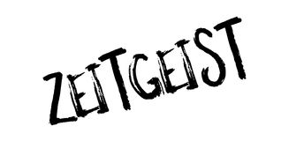 Zeitgeist rubber stamp Royalty Free Stock Image