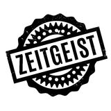 Zeitgeist rubber stamp Royalty Free Stock Images