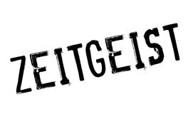 Zeitgeist rubber stamp Royalty Free Stock Photo